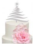 Swirly large tree Acrylic Cake Topper